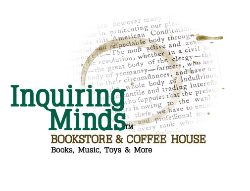 Inquiring Minds Bookstores are open for curbside pickup, local delivery, and shipping.