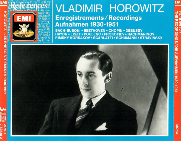 Image for Vladimir Horowitz: Recordings 1930-1951
