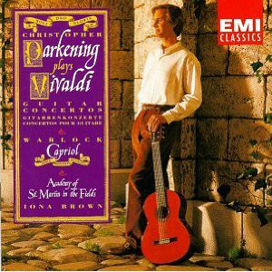 Image for Christopher Parkening Plays Vivaldi Guitar Concertos & Warlock Capriol Suite