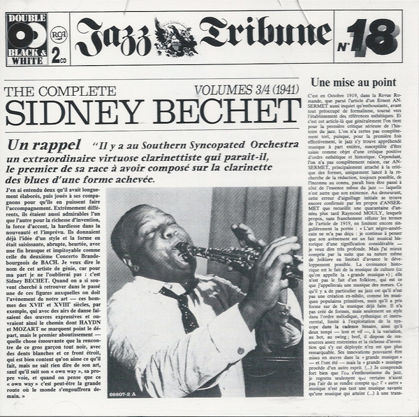 Image for Complete Sidney Bechet 3 & 4