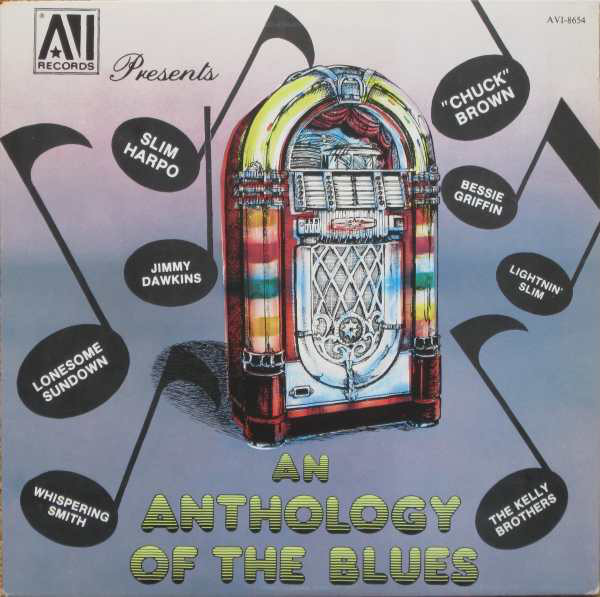 Image for An Anthology of the Blues
