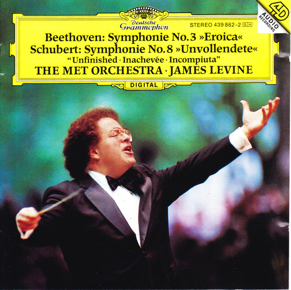 Image for Beethoven: Symphony No. 3 - Eroica / Schubert: Symphony No. 8 - Unfinished,d.759