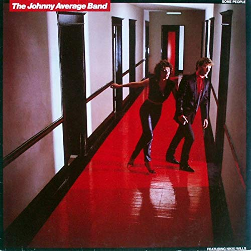 Image for THE JOHNNY AVERAGE BAND SOME PEOPLE vinyl record