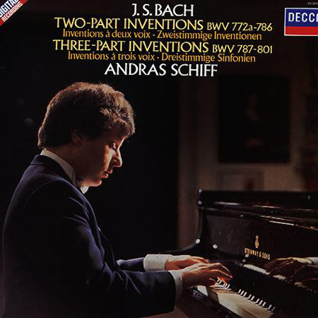 Image for Bach: Two part Inventions/Three Part Inventions