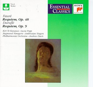 Image for Faure: Requiem, Op. 48 / Durufle: Requiem, Op. 9 (Essential Classics)