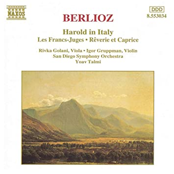 Image for Berlioz: Harold in Italy / Les Francs-Juges / Rêverie et Caprice ~ Talmi