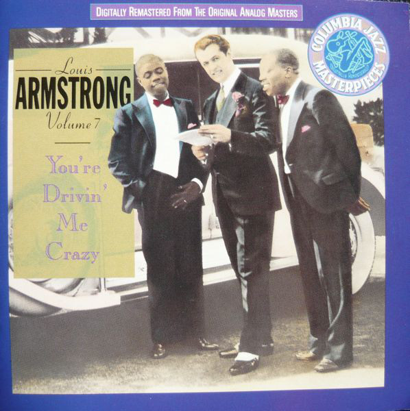 Image for Louis Armstrong Volume 7 - You're Drivin' Me Crazy