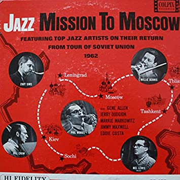 Image for Jazz Mission To Moscow