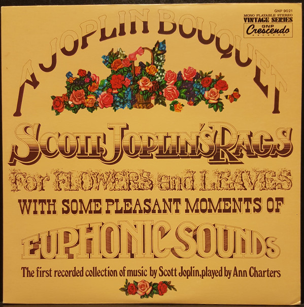 Image for A Joplin Bouquet - Scott Joplin's Rags