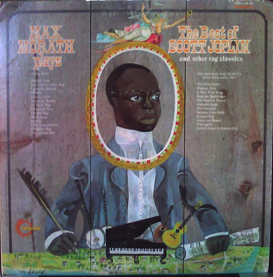 Image for Max Morath Plays The Best Of Scott Joplin