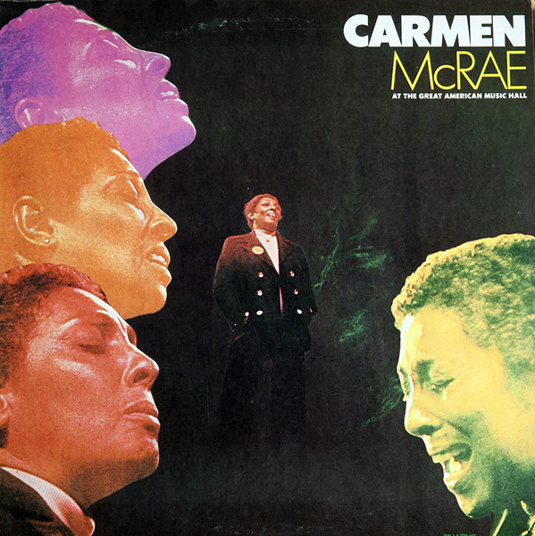 Image for Carmen McRae At The Great American Music Hall