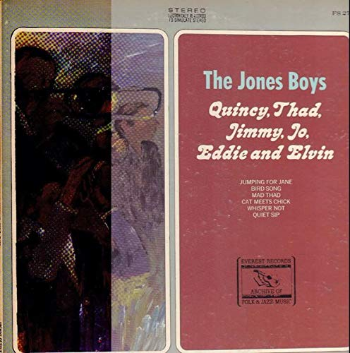 Image for Jones Boys, The - Quincy, Thad, Jimmy, Jo, Eddie And Elvin - Archive Of Folk & Jazz Music - FS 270