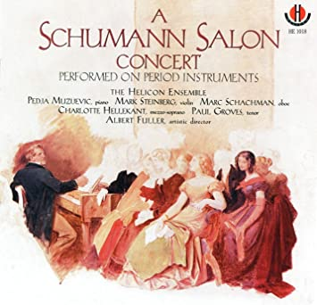 Image for A Schumann Salon Concert