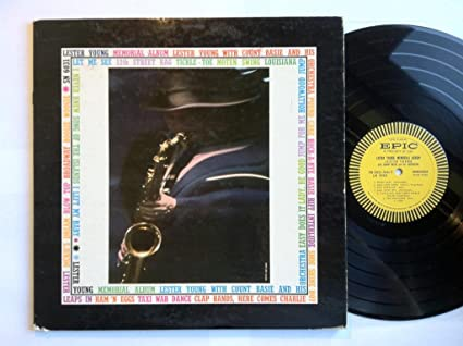 Image for Lester Young Memorial Album LP - Epic - SN 6031