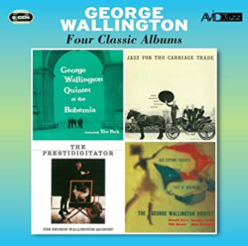 Image for Four Classic Albums (At The Bohemia / Jazz For The Carriage Trade / Jazz At Hotchkiss / The Prestidi