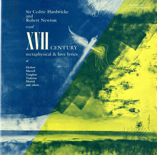 Image for XVII Century Metaphysical & Love Lyrics (Vinyl, LP)