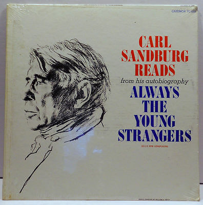 Image for Always the Young Strangers: Carl Sandburg Reads from His Autobiography
