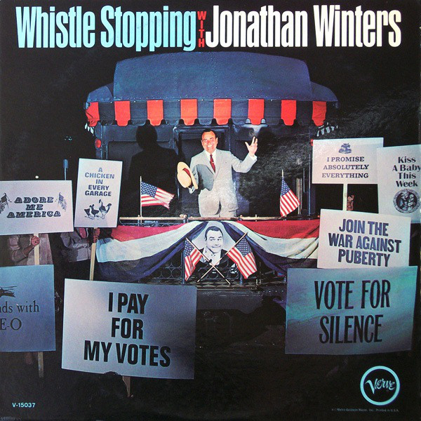 Image for Whistle Stopping with Jonathan Winters