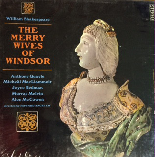 Image for The Merry Wives Of Windsor Vinyl, LP, Mono Set : 1963