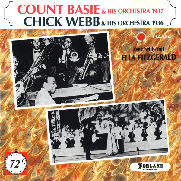Image for Count Basie & His Orchestra 1937/Chick Webb & His Orchestra 1936