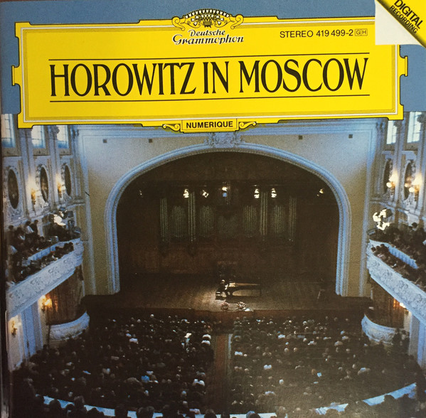 Image for Horowitz in Moscow