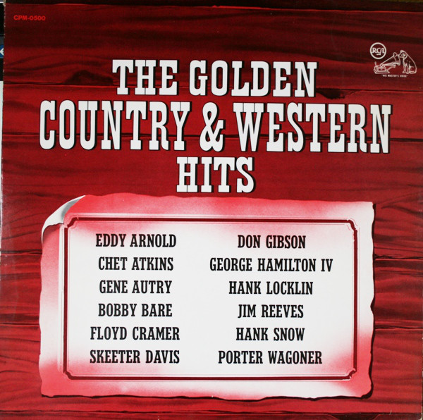Image for The Golden Country and Western Hits