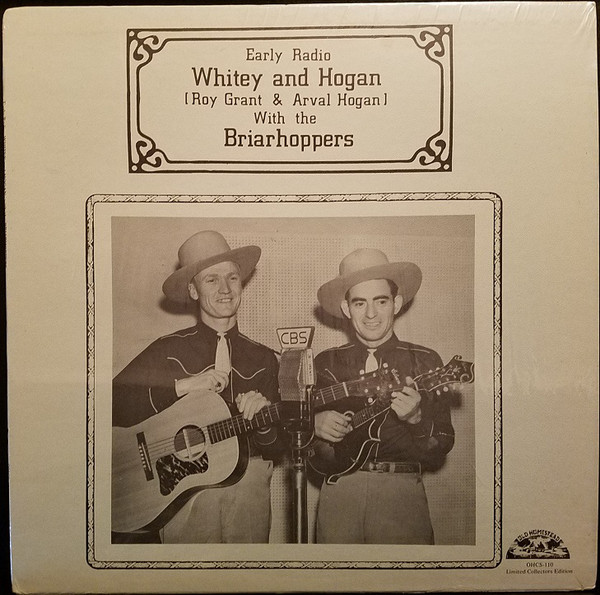 Image for Early Radio : Whitey and Hogan with the Briarhoppers