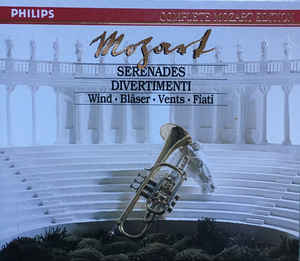Image for Netherlands Wind Ensemble Mozart Divertimenti