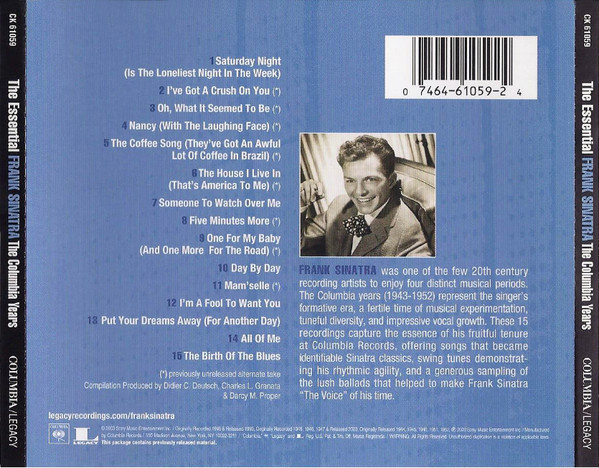Image for Essential Frank Sinatra: The Columbia Years