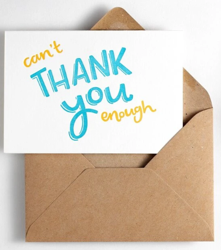Image for Can't Thank You Enough - (blank inside)