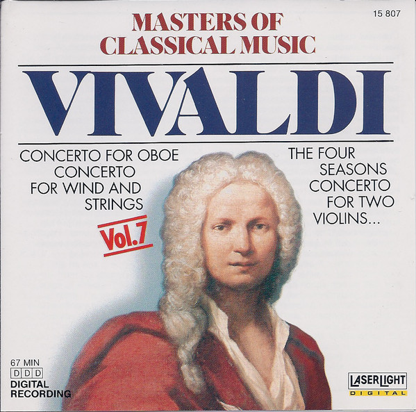 Image for Masters Of Classical Music: Vivaldi