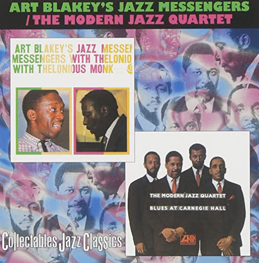Image for Art Blakey's Jazz Messengers with Thelonious Monk / The Modern Jazz Quartet: Blues at Carnegie Hall