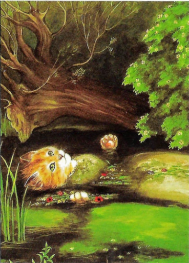 Image for Cats in Art - Ophelia