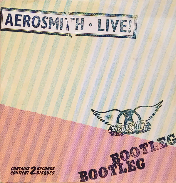 Image for Aerosmith Live! Bootleg [1978] 2 LP Gatefold Album