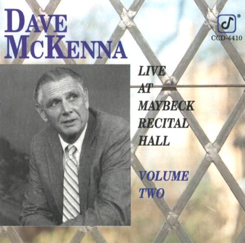 Image for Live at Maybeck Recital Hall, Vol. 2